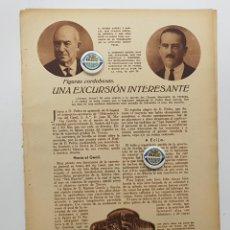 Coleccionismo de Revistas y Periódicos: 1933. FIGURAS CORDOBESAS.PEDRO SANZ. HIDROELÉCTRICAS GENIL,HARINAS LA GIRALDA,SAN CALIXTO,LA ALIANZA. Lote 239829015