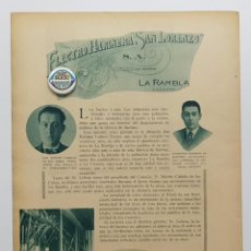 Coleccionismo de Revistas y Periódicos: 1933. LOS GRANDES DE CÓRDOBA Y SUS MANSIONES. JOSÉ MARÍA REY. LA RAMBLA ELECTRO HARINERA SAN LORENZO. Lote 239829605