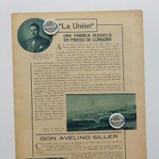 Coleccionismo de Revistas y Periódicos: 1933.LA CÓRDOBA DE CALIFAS,DESCUBRIMIENTOS MEDINA AZ-ZAHRA. RAFAEL CASTEJÓN. PRIEGO LA UNIÓN.SILLER. Lote 239830200
