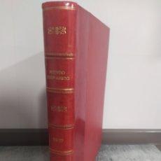 Coleccionismo de Revistas y Periódicos: MUNDO HISPANICO - AÑO 1957 EN UN TOMO ENCUADERNADO - 12 REVISTAS - Nº 106 AL Nº 117. Lote 239928635