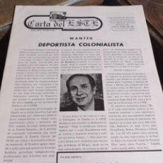 Coleccionismo de Revistas y Periódicos: PERIODICO CARTA DEL ESTE, DIRECTOR GABRIEL AMIAMA AÑO 2 NUM. 38 - 39 REF. UR EST. Lote 240262605
