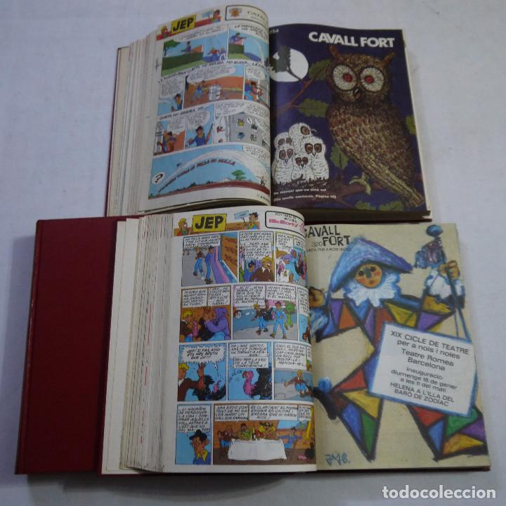 LOTE 3 TOMOS DE CAVALL FORT CON UN TOTAL DE 76 EJEMPLARES DE 1973 A 1976 - LEER DESCRIPCION (Coleccionismo - Revistas y Periódicos Modernos (a partir de 1.940) - Otros)