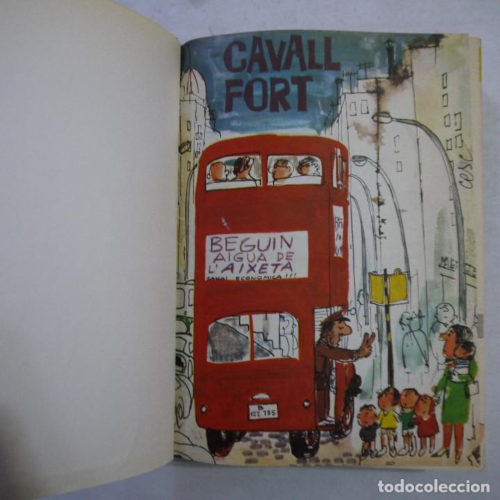 Coleccionismo de Revistas y Periódicos: LOTE 3 TOMOS DE CAVALL FORT CON UN TOTAL DE 76 EJEMPLARES DE 1973 A 1976 - LEER DESCRIPCION - Foto 5 - 240467470