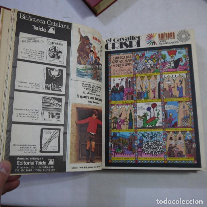 Coleccionismo de Revistas y Periódicos: LOTE 3 TOMOS DE CAVALL FORT CON UN TOTAL DE 76 EJEMPLARES DE 1973 A 1976 - LEER DESCRIPCION - Foto 6 - 240467470