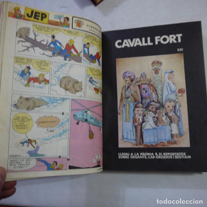 Coleccionismo de Revistas y Periódicos: LOTE 3 TOMOS DE CAVALL FORT CON UN TOTAL DE 76 EJEMPLARES DE 1973 A 1976 - LEER DESCRIPCION - Foto 7 - 240467470