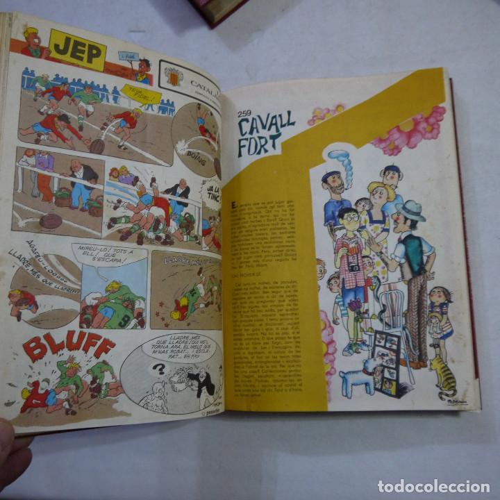 Coleccionismo de Revistas y Periódicos: LOTE 3 TOMOS DE CAVALL FORT CON UN TOTAL DE 76 EJEMPLARES DE 1973 A 1976 - LEER DESCRIPCION - Foto 8 - 240467470