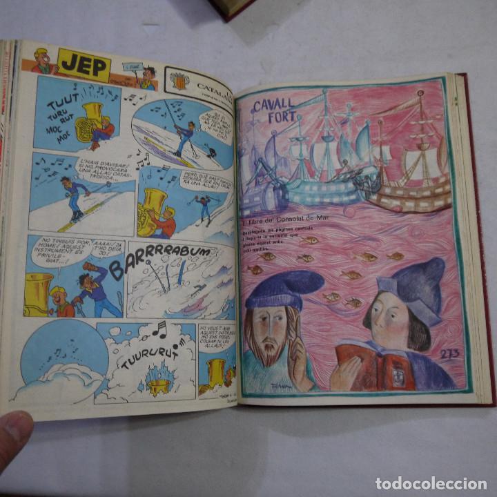 Coleccionismo de Revistas y Periódicos: LOTE 3 TOMOS DE CAVALL FORT CON UN TOTAL DE 76 EJEMPLARES DE 1973 A 1976 - LEER DESCRIPCION - Foto 15 - 240467470