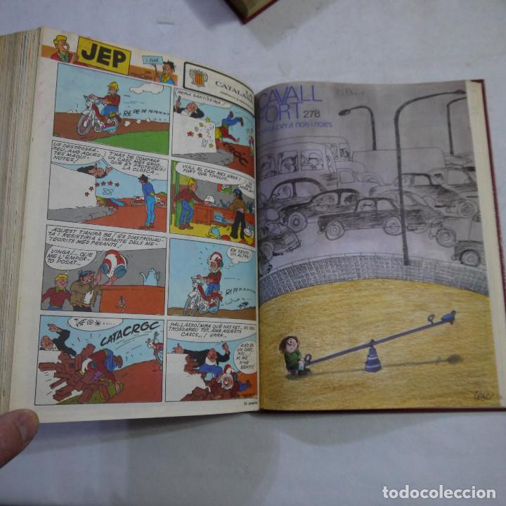 Coleccionismo de Revistas y Periódicos: LOTE 3 TOMOS DE CAVALL FORT CON UN TOTAL DE 76 EJEMPLARES DE 1973 A 1976 - LEER DESCRIPCION - Foto 17 - 240467470