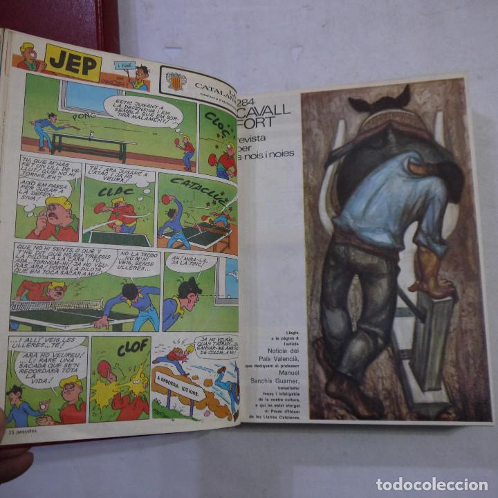 Coleccionismo de Revistas y Periódicos: LOTE 3 TOMOS DE CAVALL FORT CON UN TOTAL DE 76 EJEMPLARES DE 1973 A 1976 - LEER DESCRIPCION - Foto 20 - 240467470