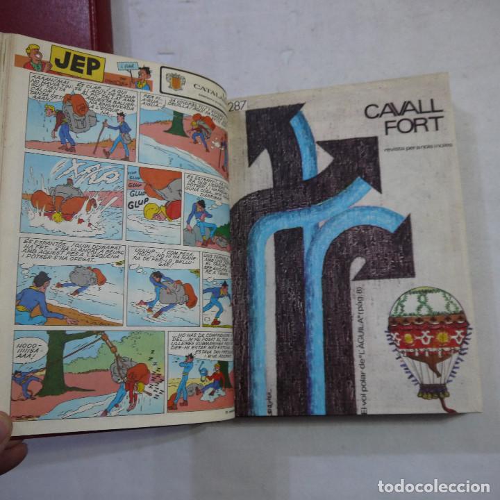 Coleccionismo de Revistas y Periódicos: LOTE 3 TOMOS DE CAVALL FORT CON UN TOTAL DE 76 EJEMPLARES DE 1973 A 1976 - LEER DESCRIPCION - Foto 21 - 240467470