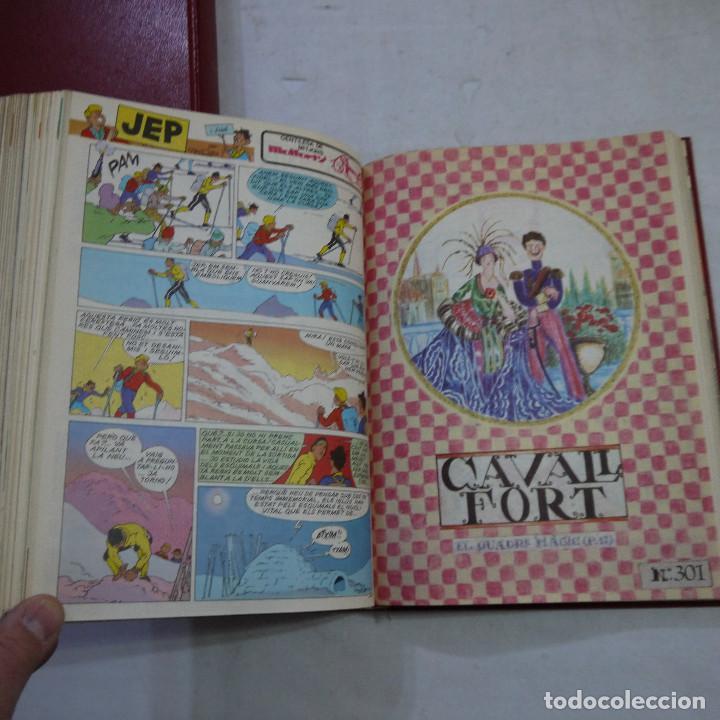Coleccionismo de Revistas y Periódicos: LOTE 3 TOMOS DE CAVALL FORT CON UN TOTAL DE 76 EJEMPLARES DE 1973 A 1976 - LEER DESCRIPCION - Foto 28 - 240467470