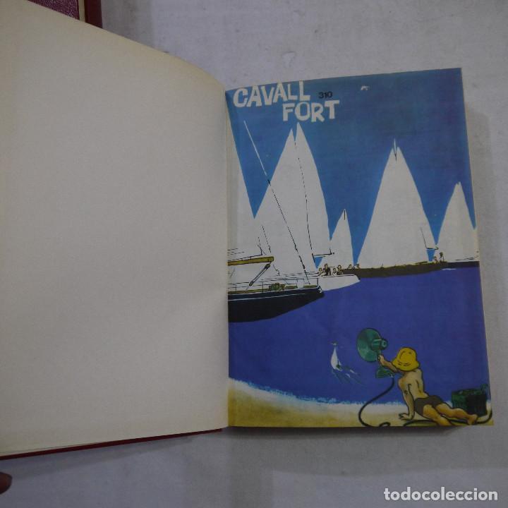 Coleccionismo de Revistas y Periódicos: LOTE 3 TOMOS DE CAVALL FORT CON UN TOTAL DE 76 EJEMPLARES DE 1973 A 1976 - LEER DESCRIPCION - Foto 30 - 240467470