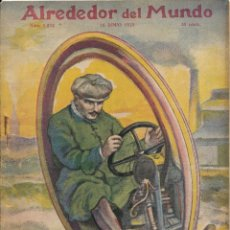 Coleccionismo de Revistas y Periódicos: REVISTA ALREDEDOR DEL MUNDO Nº 1252 1923. Lote 47395681