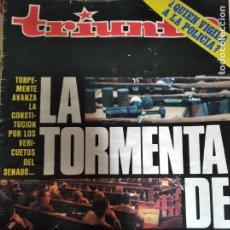 Coleccionismo de Revistas y Periódicos: TRIUNFO Nº 815 1978 WILLIAM BURROUGHS- CARLES MIRA- GWENDAL- VIOLETA PARRA- EVITA PERON- KIKO VENENO. Lote 240844120