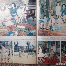 Colecionismo de Revistas e Jornais: LOS MARQUESES DE VILLAVERDE CARMEN MARIOLA MARTINEZ BORDIU CRISTOBAL. Lote 240955980