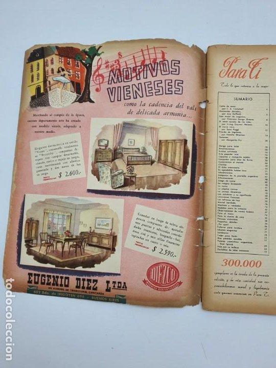 Coleccionismo de Revistas y Periódicos: REVISTA PARA TI ( 1947 ) BUENOS AIRES, Nº 1302 ( VER FOTOS ) - Foto 7 - 241701165