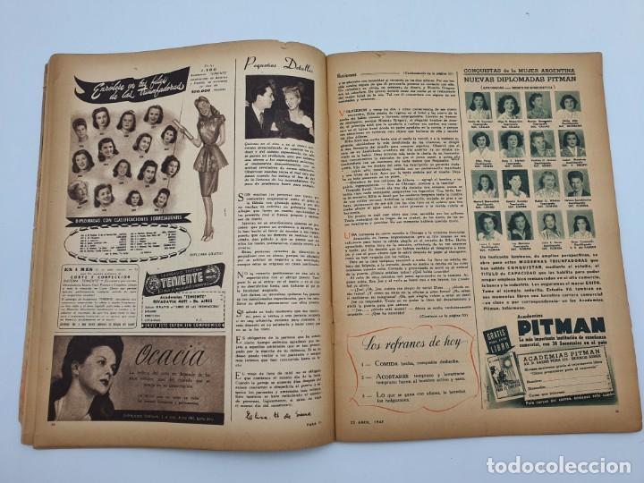 Coleccionismo de Revistas y Periódicos: REVISTA PARA TI ( 1947 ) BUENOS AIRES, Nº 1302 ( VER FOTOS ) - Foto 9 - 241701165