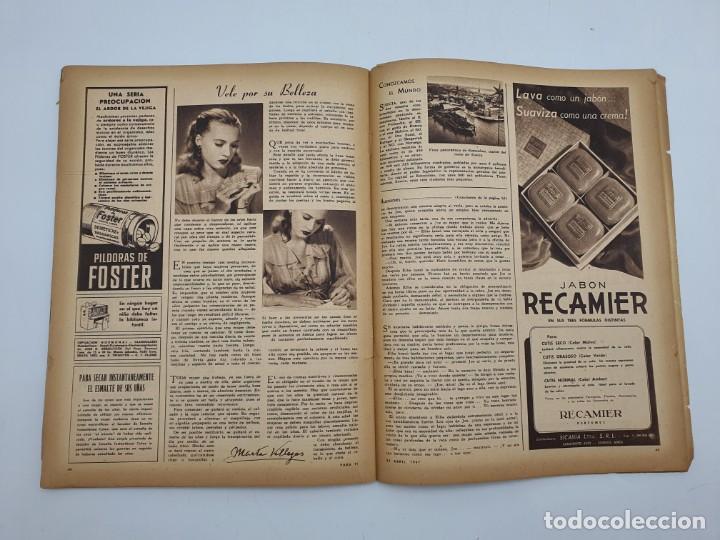 Coleccionismo de Revistas y Periódicos: REVISTA PARA TI ( 1947 ) BUENOS AIRES, Nº 1302 ( VER FOTOS ) - Foto 11 - 241701165