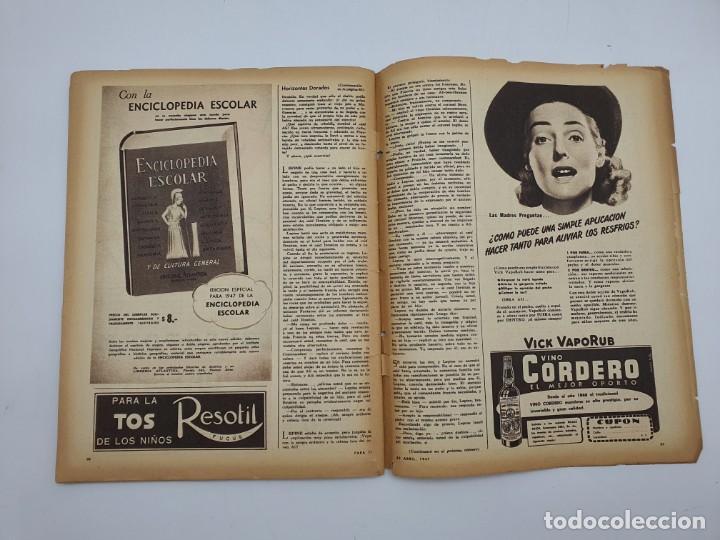 Coleccionismo de Revistas y Periódicos: REVISTA PARA TI ( 1947 ) BUENOS AIRES, Nº 1302 ( VER FOTOS ) - Foto 12 - 241701165