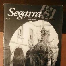 Coleccionismo de Revistas y Periódicos: SEGARRA ACTUALITAT NÚM. 35 - OCTUBRE 1999 - DOSSIER: LA TRAJECTÒRIA DE LA MARE GÜELL. Lote 241788855
