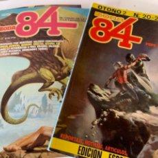 Coleccionismo de Revistas y Periódicos: 14 CÓMICS DE ZONA 84, CÓMIC DE LA FANTASÍA. Lote 241917875