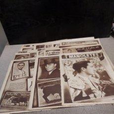 Collectionnisme de Revues et Journaux: TAUROMAQUIA...28 PAGINAS PUBLICITARIAS DE LA REVISTA APLAUSO DE 1944... Lote 242065135