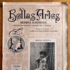 Collectionnisme de Revues et Journaux: BELLAS ARTES- REVISTA ILUSTRADA 1899. Lote 242343075