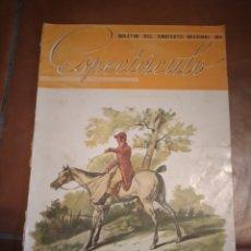 Coleccionismo de Revistas y Periódicos: REVISTA ESPECTACULO 1944 POS GUERRA CIVIL CINE TEATRO CIRCO TOROS. Lote 242352670