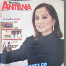 Coleccionismo de Revistas y Periódicos: SEMANAL ANTENA Nº 182 1984 ISABEL PREYSLER, MARTA BOBO, ORQUESTA MONDRAGÓN, EL OÍDO ARTIFICIAL. Lote 242377125