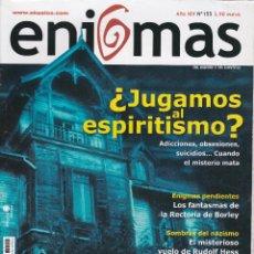 Coleccionismo de Revistas y Periódicos: REVISTA ENIGMAS : ¿JUGAMOS AL ESPIRITISMO? Nº 155.. Lote 242843180