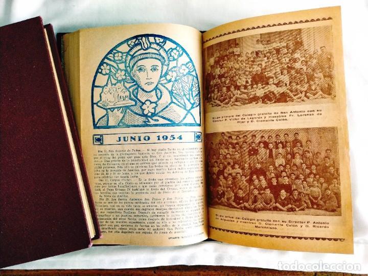 Coleccionismo de Revistas y Periódicos: EL MENSAJERO DE SAN ANTONIO DE PADUA - OCHO TOMOS - Foto 3 - 242856885