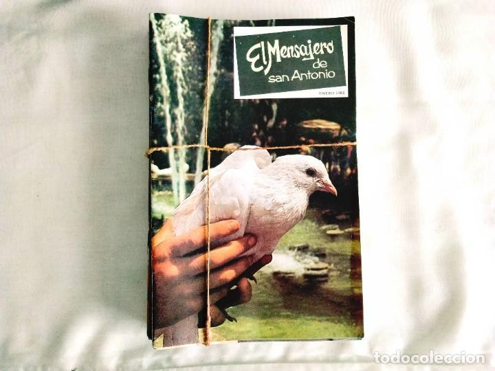 Coleccionismo de Revistas y Periódicos: EL MENSAJERO DE SAN ANTONIO DE PADUA - OCHO TOMOS - Foto 6 - 242856885