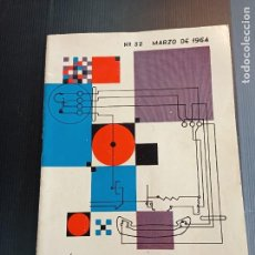 Coleccionismo de Revistas y Periódicos: ANTIGUA REVISTA STANDARD ELECTRICA AÑO 1964, SUPLEMENTO DE HUMOR RIN-RIN. Lote 242999570