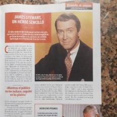Coleccionismo de Revistas y Periódicos: JAMES STEWART. Lote 243003615