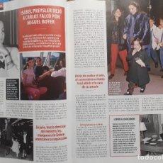 Coleccionismo de Revistas y Periódicos: ISABEL PREYSLER. Lote 243003790