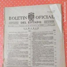 Coleccionismo de Revistas y Periódicos: BOLETÍN OFICIAL DEL ESTADO DEL VIERNES 23 DE DICIEMBRE DE 1955.. Lote 243062475