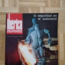 Coleccionismo de Revistas y Periódicos: REVISTA IBERICA ACTUALIDAD CIENTIFICA. Nº 131. CAMIONES PEGASO. VER FOTOS. Lote 243373520