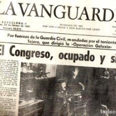 Coleccionismo de Revistas y Periódicos: GOLPE DE ESTADO TEJERO 23.F : SEIS DIARIOS COMPLETOS. Lote 243414370
