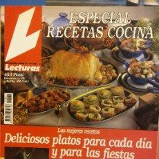 Colecionismo de Revistas e Jornais: REVISTA LECTURA. ESPECIAL RECETAS COCINA Nº 7. DELICIOSOS PLATOS PARA CADA DIA Y PARA LAS FIESTAS. Lote 243420480
