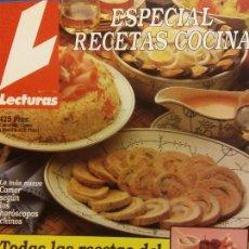 Colecionismo de Revistas e Jornais: REVISTA LECTURA. ESPECIAL RECETAS COCINA Nº 6. TODAS LAS RECETAS DEL VERANO. Lote 243420525