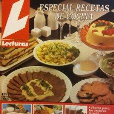 Colecionismo de Revistas e Jornais: REVISTA LECTURA. ESPECIAL RECETAS COCINA Nº 5. LAS MEJORES RECETAS DE PRIMAVERA. Lote 243421045