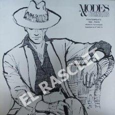 Coleccionismo de Revistas y Periódicos: COLECCION MODES & TENHNIQUES - PRINTEMPS-ETE - 1984 - PARIS - MODES ET TECHNIQUES -. Lote 243442815