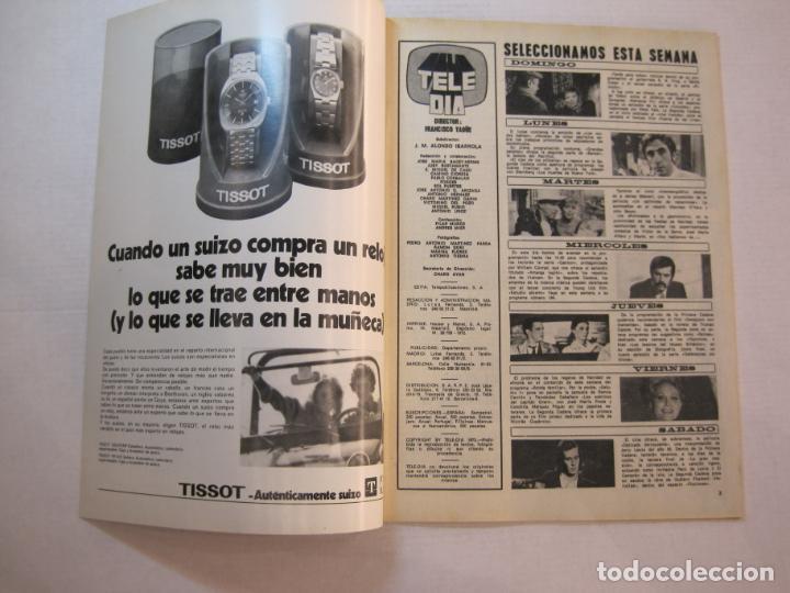 Coleccionismo de Revistas y Periódicos: TELE DIA-Nº 63-AÑO 1973-KUNG FU-AUDREY HEPBURN-JERRY LEWIS-ANTHONY QUINN-LOS DIABLOS-VER FOTOS - Foto 3 - 243444225