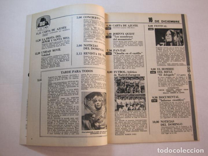 Coleccionismo de Revistas y Periódicos: TELE DIA-Nº 63-AÑO 1973-KUNG FU-AUDREY HEPBURN-JERRY LEWIS-ANTHONY QUINN-LOS DIABLOS-VER FOTOS - Foto 4 - 243444225