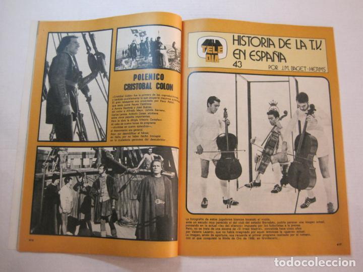 Coleccionismo de Revistas y Periódicos: TELE DIA-Nº 63-AÑO 1973-KUNG FU-AUDREY HEPBURN-JERRY LEWIS-ANTHONY QUINN-LOS DIABLOS-VER FOTOS - Foto 7 - 243444225