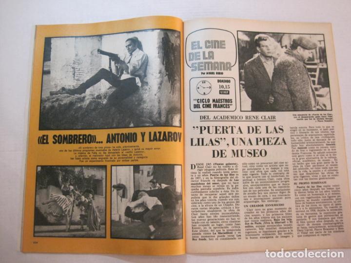 Coleccionismo de Revistas y Periódicos: TELE DIA-Nº 63-AÑO 1973-KUNG FU-AUDREY HEPBURN-JERRY LEWIS-ANTHONY QUINN-LOS DIABLOS-VER FOTOS - Foto 8 - 243444225