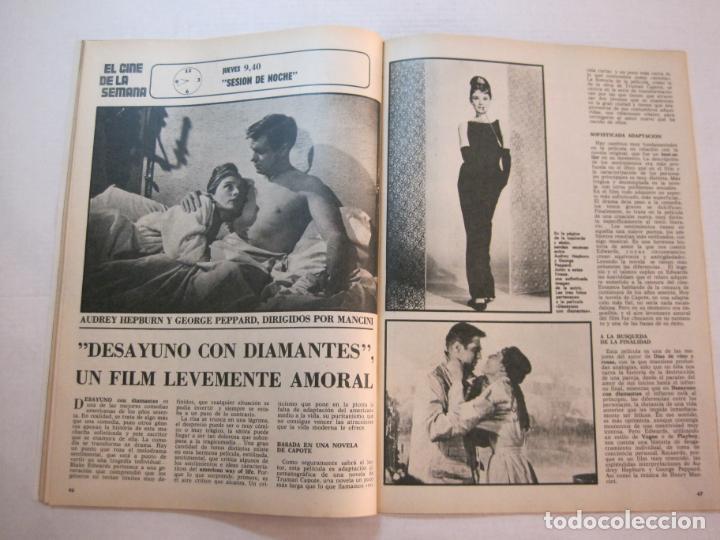 Coleccionismo de Revistas y Periódicos: TELE DIA-Nº 63-AÑO 1973-KUNG FU-AUDREY HEPBURN-JERRY LEWIS-ANTHONY QUINN-LOS DIABLOS-VER FOTOS - Foto 10 - 243444225