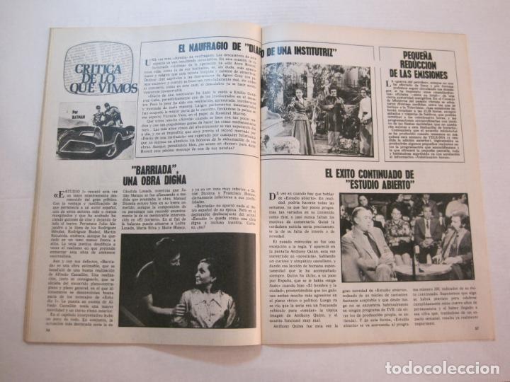 Coleccionismo de Revistas y Periódicos: TELE DIA-Nº 63-AÑO 1973-KUNG FU-AUDREY HEPBURN-JERRY LEWIS-ANTHONY QUINN-LOS DIABLOS-VER FOTOS - Foto 12 - 243444225