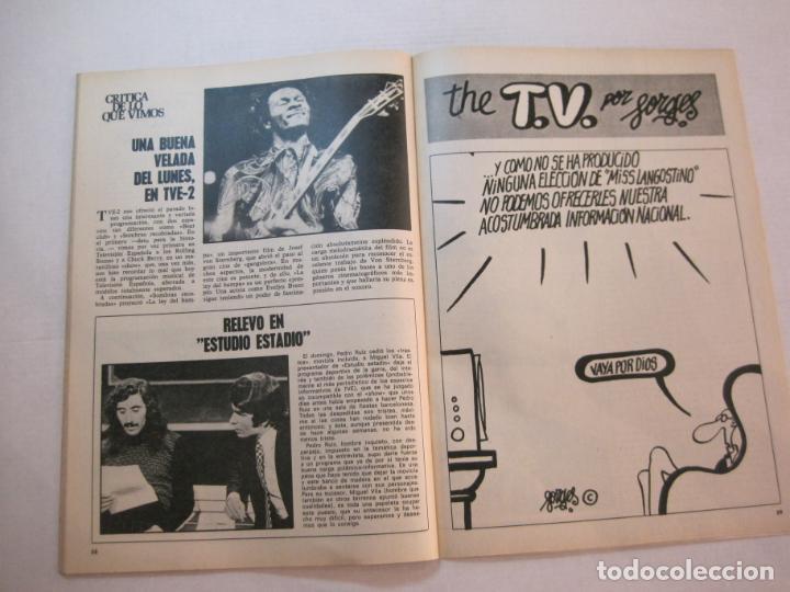 Coleccionismo de Revistas y Periódicos: TELE DIA-Nº 63-AÑO 1973-KUNG FU-AUDREY HEPBURN-JERRY LEWIS-ANTHONY QUINN-LOS DIABLOS-VER FOTOS - Foto 13 - 243444225