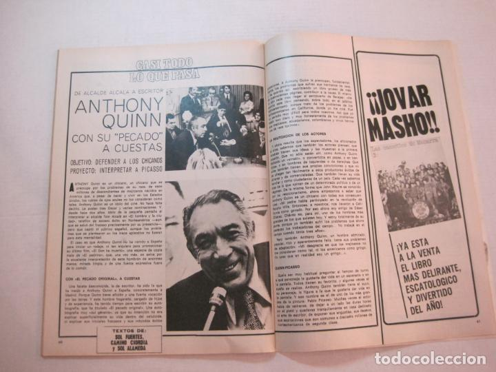 Coleccionismo de Revistas y Periódicos: TELE DIA-Nº 63-AÑO 1973-KUNG FU-AUDREY HEPBURN-JERRY LEWIS-ANTHONY QUINN-LOS DIABLOS-VER FOTOS - Foto 14 - 243444225
